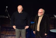 Paolo Nori e Giancarlo Ilari